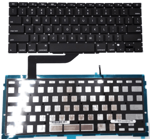 MACBOOK PRO REPLACEMENT KEYBOARD WITH BACKLIGHT, SAME DAY LAPTOP REPAIR SERVICES IN LONDON