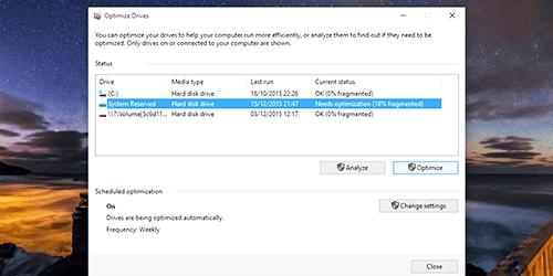 Desktop PC speed optimalisation services in UK