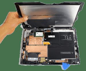 Microsoft Surface screen repair service in london