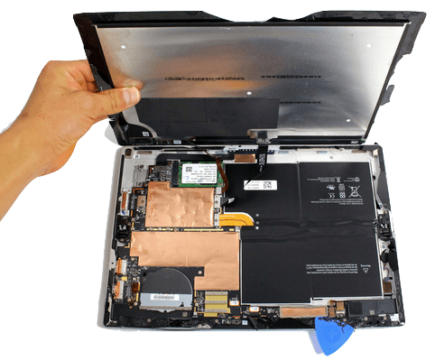 Microsoft Surface screen repair service in london