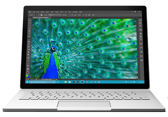 Microsoft surface book repair services in UK send it in or bring for quick repair