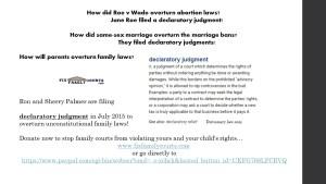declaratory judment slide roe v wade and same sex marriage 2015