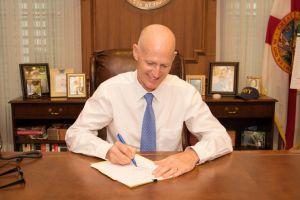 Governor Rick Scott vetoing bills
