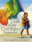 child carrying equality flag poster gay rights movement