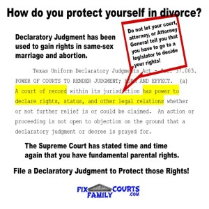 declaratory-judgment-protect-yourself-in-divorce-rights
