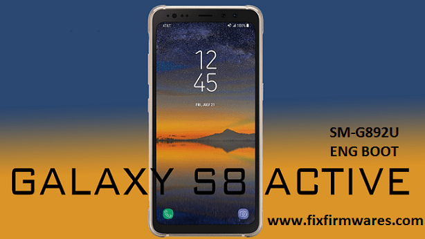 SM-G892U Galaxy S8 Active Bypass FRP ENG Sboot Download