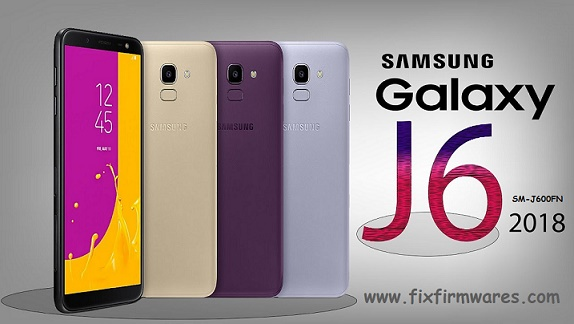 SM-J600FN Galaxy J6 2018 4File official Firmware Download Free