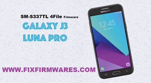 SM-S337TL J3 Luna Pro 4File OfficIal Firmware Fixrom