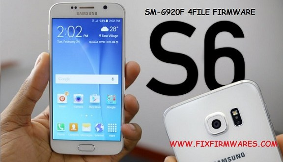 SM-G920F Galaxy S6 4 File Firmware 7 0 Download Free