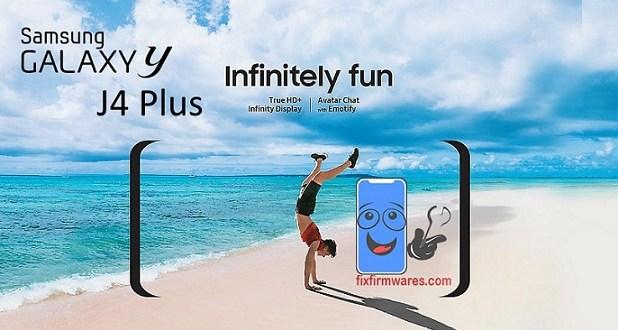 Samsung Galaxy J4 Plus SM-J415G 4File Factory Repair Firmwarer