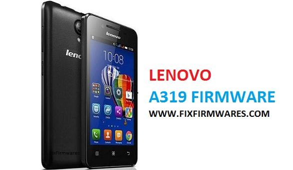 Lenovo A319 Flash File