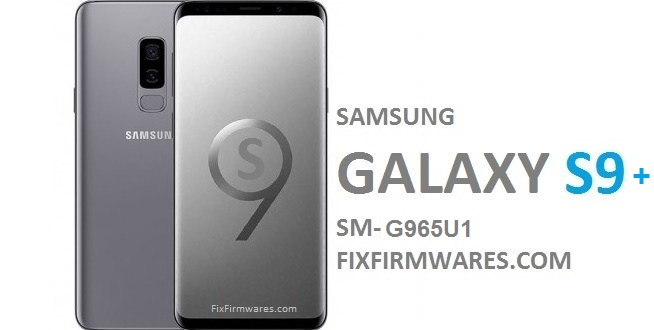 CF Auto Root - SM-G965U1 Samsung Galaxy S9+