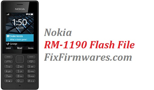 Nokia Firmware File | Nokia 105 RM-1190 Latest (v-11 00
