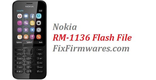 Nokia Firmware File | Nokia RM-1136 (100% Tested Flash File)