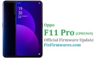 Oppo F11 Pro, CPH1969, Firmware Oppo,