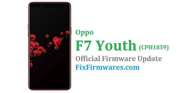 Oppo F7 Youth, CPH1859,