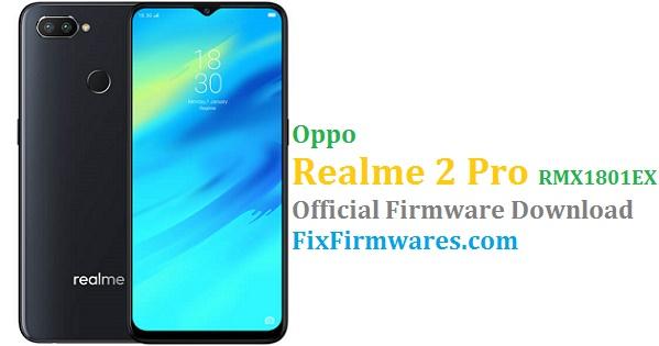 RMX1801EX, Oppo, Oppo Realme 2 Pro, Realme 2 Pro