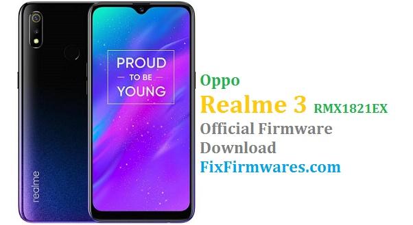 Oppo Realme3,RMX1821EX, Realme 3