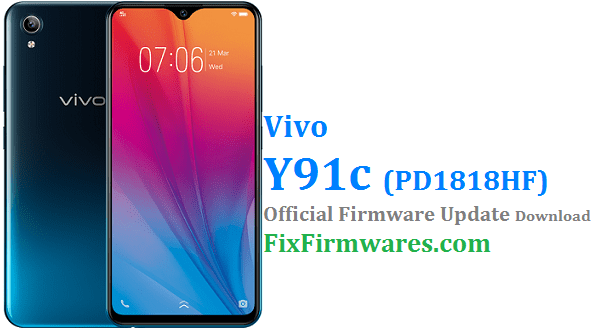 Firmware Vivo Y91 Pd1818gf