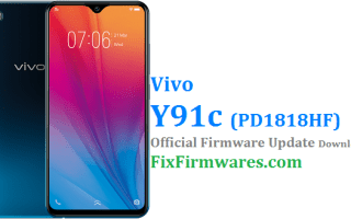 Vivo Y91c Firmware,PD1818HF,Vivo Flash File,