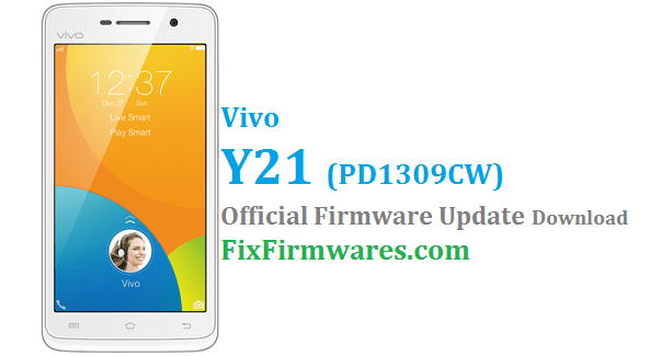 Vivo Y21 Firmware Update PD1309CW - Vivo Flash File | Download Free