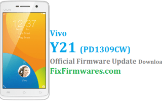 vivo Y21 firmware,PD1309CW