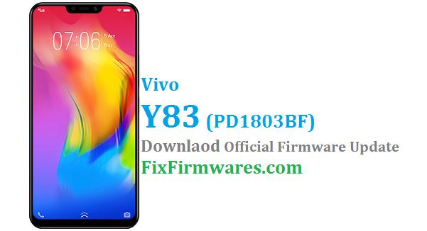 Vivo Y83 Firmware,PD1803BF, Vivo Y83