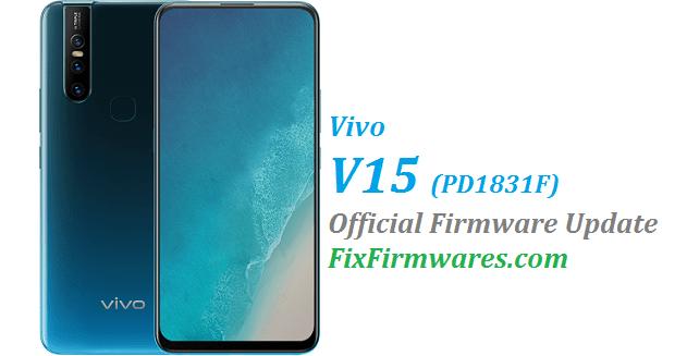 Vivo V15, PD1831F