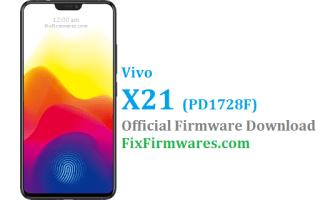 Vivo X21 Firmware, PD1728F, Vivo X21,