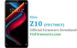 Vivo Z10 Firmware, PD1708CF, Vivo z10,