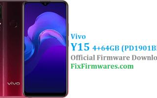 Vivo Y15 Firmware, Vivo Y15,