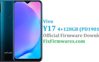 Vivo Y17 4+128 GB Firmware, Vivo Y17 4+128 GB,