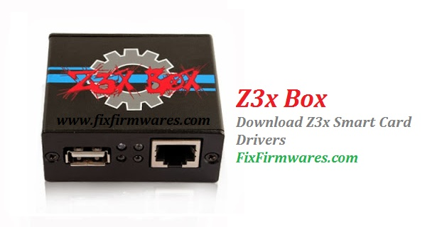 Z3x Smart Card Driver, Z3x Box