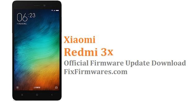 Redmi 3X