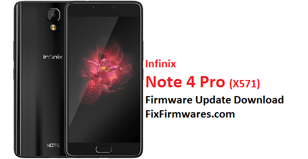 Infinix Note 4 Pro, X571,