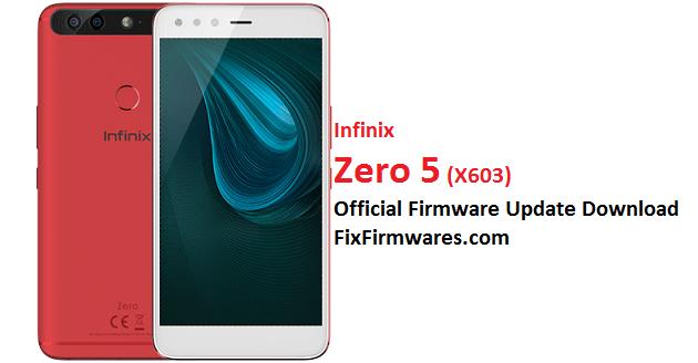 Infinix Zero 5, X603