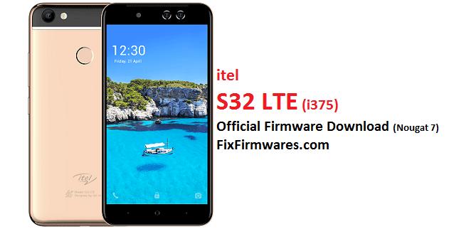 Itel S32 LTE, i375