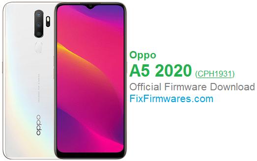 Oppo A5 2020, CPH1931