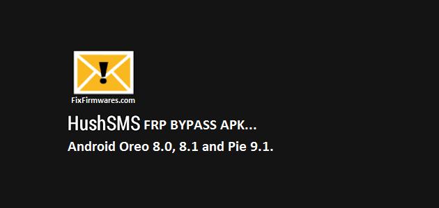 HushSMS APK download samsung frp bypass