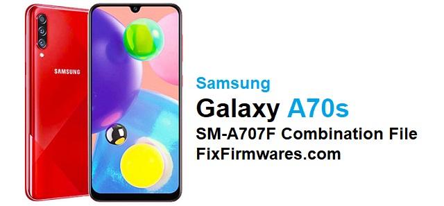 SM-A707F Combination File