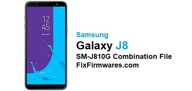 SM-J810G Combination Firmwa