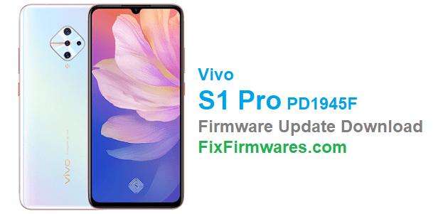 Vivo S1 Pro Firmware Update (PD1945F)