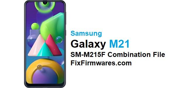 SM-M215F Combination File