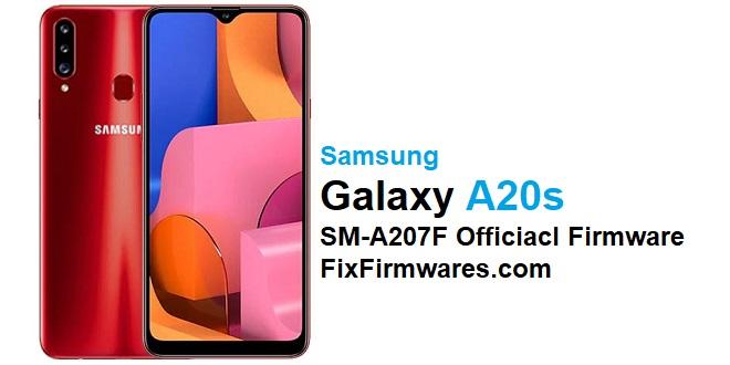 SM-A207F Official Samsung Firmware