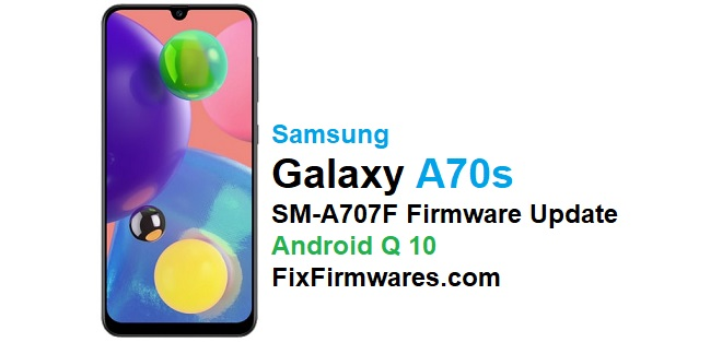 SM-A707F Android 10 Firmware
