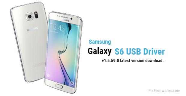 Galaxy S6 USB Driver Download