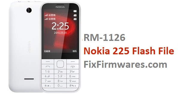Nokia 225 Flash File