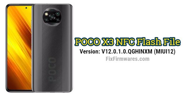 POCO X3 NFC Flash File