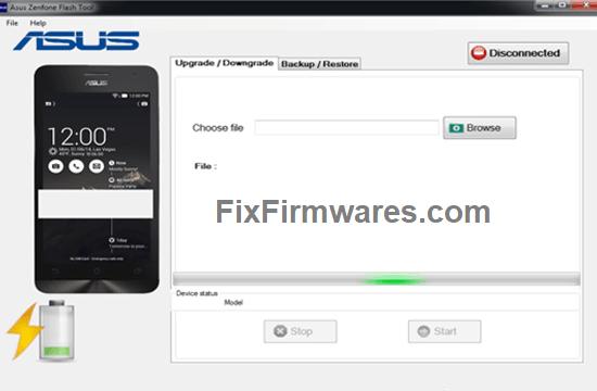 Asus Flash Tool v2.0.1