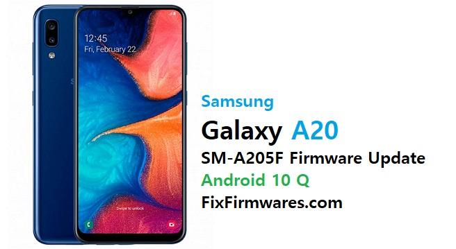 Samsung SM-A205F Firmware File (Flash File)
